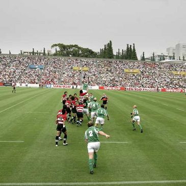 The Ireland senior team toured Japan in 2005