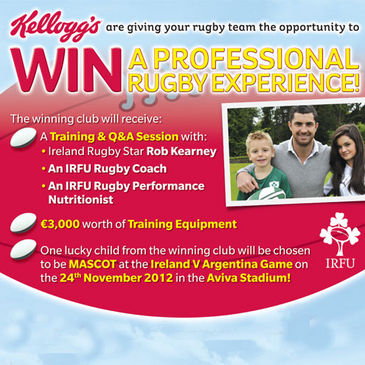Win a training session with Rob Kearney