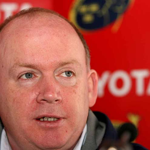 Munster coach Declan Kidney