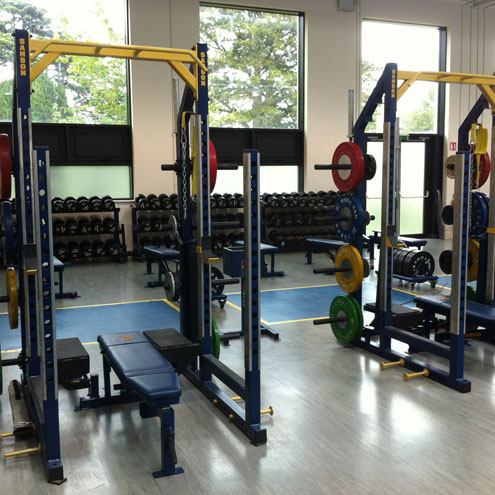 The new Leinster gym