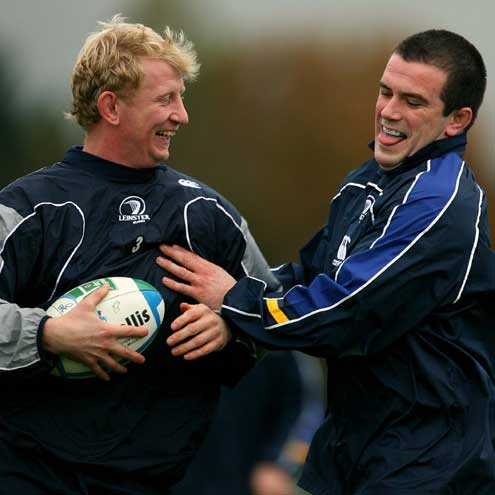 Leinster Squad Training At Belfield, Wednesday, November 14, 2007