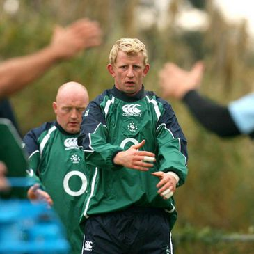 Leo Cullen at training