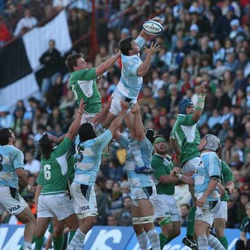 Lineout In Argentina