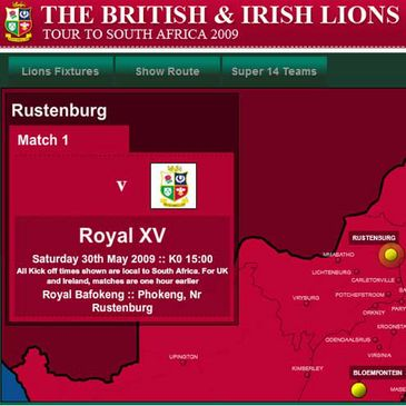 Follow the Lions on IrishRugby.ie