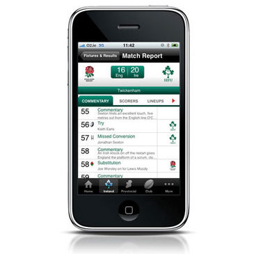 The Irish Rugby App