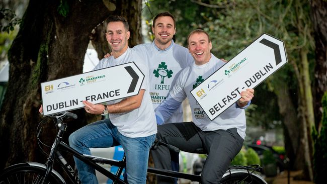 IRFU Charitable Trust & Co-operation Ireland Launch Entwined Histories Challenge