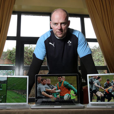 IRFU head of performance analysis Mervyn Murphy