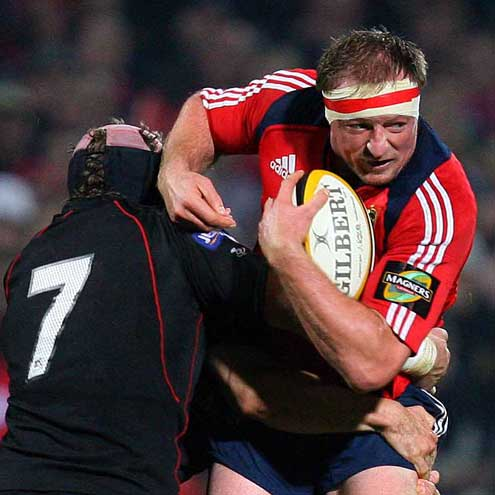 Munster 19 Edinburgh 16, Musgrave Park, Saturday, November 3, 2007