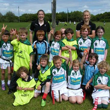 Carol Staunton and Claire Molloy at the Summer Camp