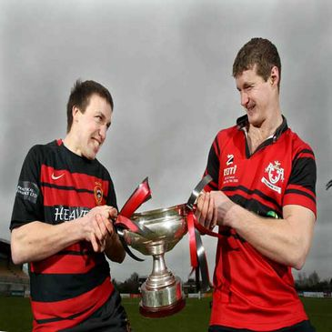 Monivea and Tullamore in the Ulster Bank All-Ireland Junior Cup final
