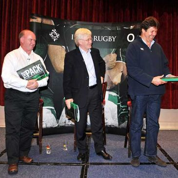 Declan Kidney, Paul McNaughton and Gert Smal join the club