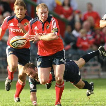 Anthony Horgan has been included in the Munster team