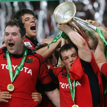 Munster lifted the Heineken Cup in 2006