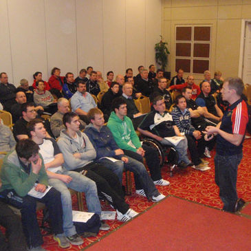The IRFU fitness workshop in Munster
