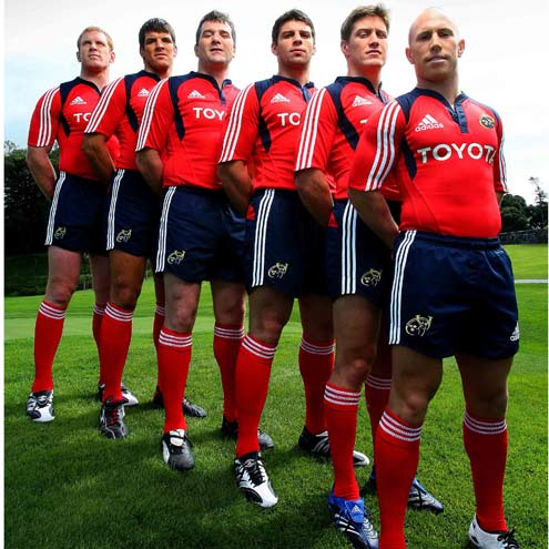 Munster's New Kit Launch