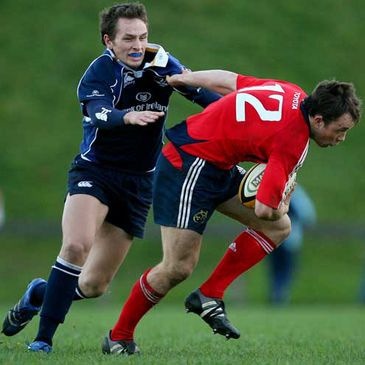 Action from Munster's 'A' Interpro win over their Leinster counterparts