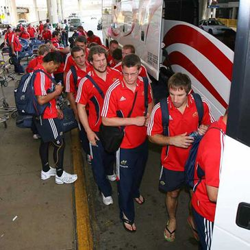 The Munster players in Chicago