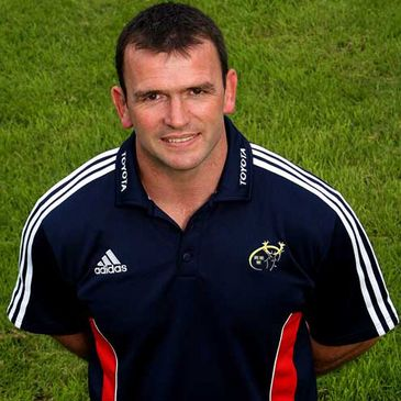 Munster Fitness and Conditioning coach Paul Darbyshire