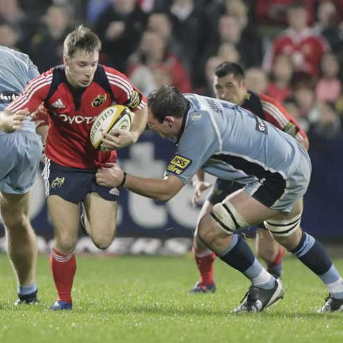 Munster 17 Cardiff Blues 19, Musgrave Park, Friday, October 5, 2007