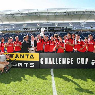 Munster collect the Setanta Sports Challenge Cup