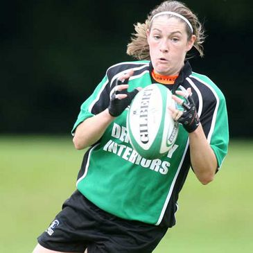Connacht's Nancy Ferris in action