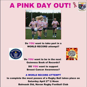 Navan will be in the pink for a world record attempt