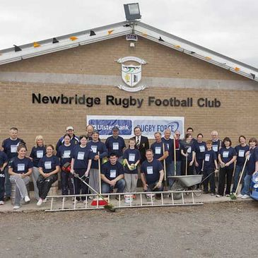 Newbridge RFC was a hive of activity