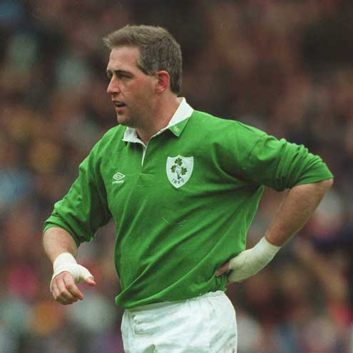 Noel Mannion during his playing days with Ireland