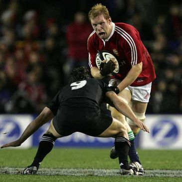 Paul O'Connell in action on the last British & Irish Lions tour