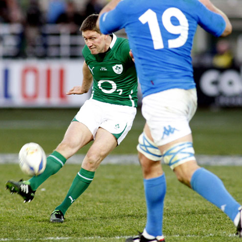 Italy 11 Ireland 13, RBS 6 Nations 2011