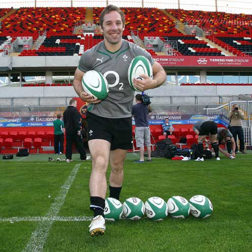 Ireland Squad Training At Thomond Park, Wednesday, June 2, 2010
