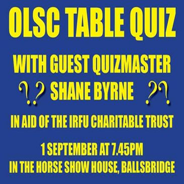 Support the OLSC Table Quiz
