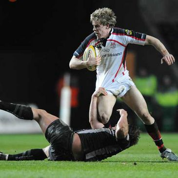 Ulster's Andrew Trimble in action against the Ospreys last time out