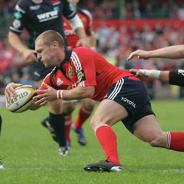 Munster's Paul Warwick
