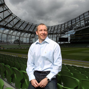 Philip Morrow at the Aviva Stadium