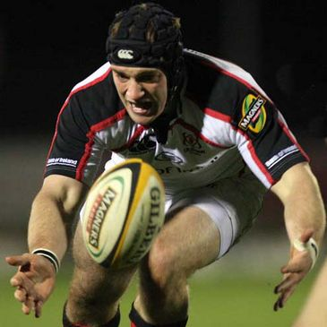 David Pollock in action for Ulster