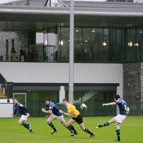 Dub Lane will host the Queen's University v Dublin University game