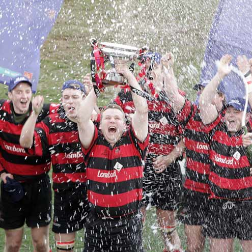 Rainey win the All Ireland Junior Cup
