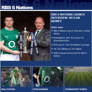 The RBS 6 Nations on IrishRugby.ie