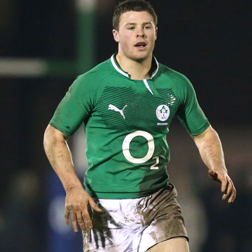 Robbie Henshaw will play for the Ireland U-20s in Athlone