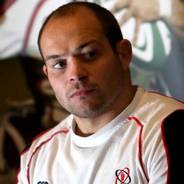 Ulster captain Rory Best at a press conference