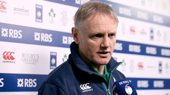 Irish Rugby TV: Joe Schmidt On Wales And France