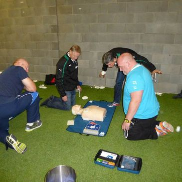 Joe Schmidt at the SAFE Rugby Course