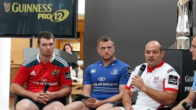 Irish Rugby TV: Matt O'Connor & Rory Best At The PRO12 Launch