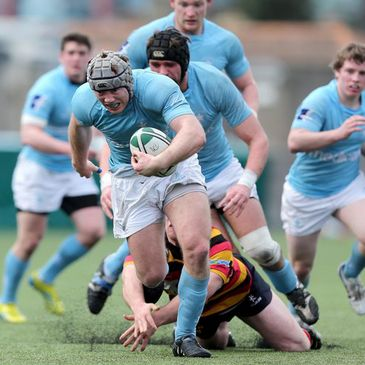 Anthony Kavanagh leads an attack for Garryowen