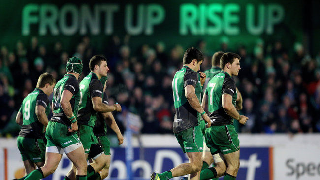 Connacht are back in action at the Sportsground