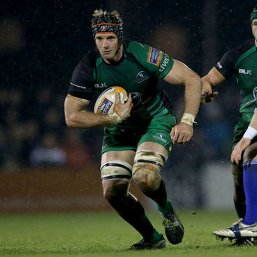Craig Clarke in action for Connacht