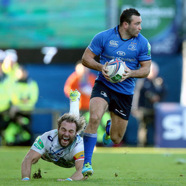 Winger Dave Kearney in action against Castres