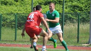 Ireland Men's Sevens Team At Rugby Europe Division C Tournament, Zenica, Bosnia, Saturday, June 6, 2015