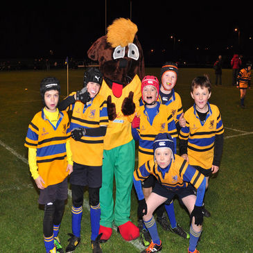 One of the teams at the Bangor Floodlit Mini Festival